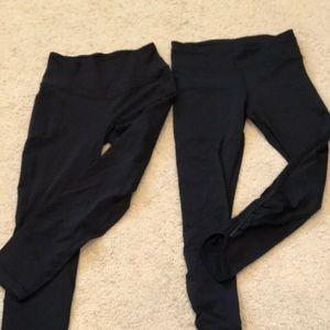 Lululemon Leggings (2 pairs)